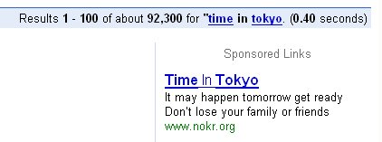 Time in Tokyo - It may happen tomorrow get ready - Don't lose your family or friends
